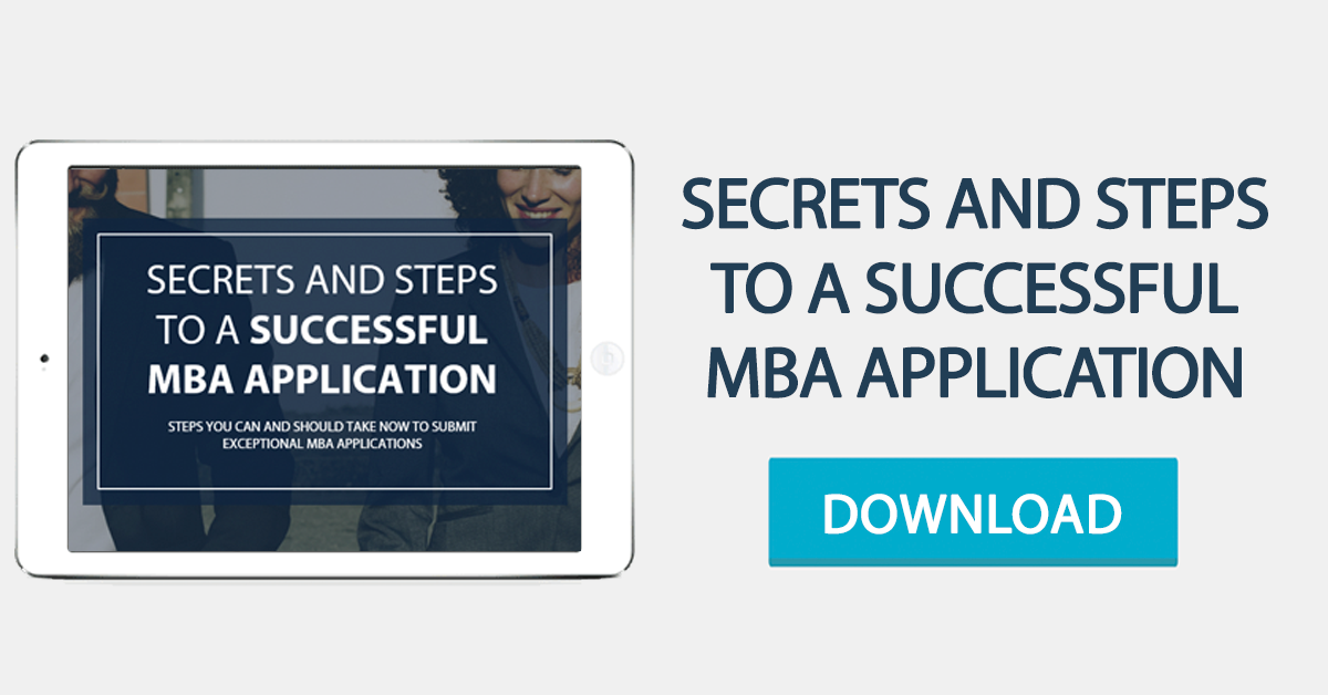 Secrets and steps to a successful MBA Application
